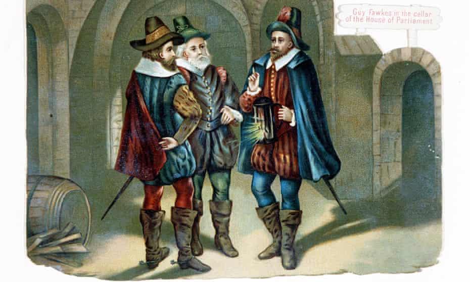 the gunpowder plot 1605