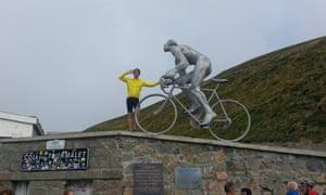 Peter Kimpton Col du Tourmalet