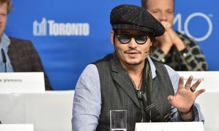 TORONTO, ON - SEPTEMBER 14:  Actor Johnny Depp attends the