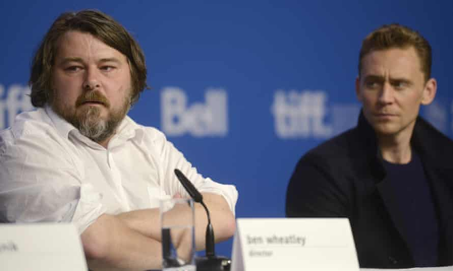 On the rise ... Director Ben Wheatley (left) and High Rise star Tom Hiddleston