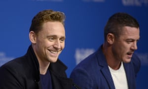 Tom Hiddleston and co-star Luke Evans