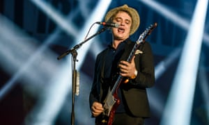Pete Doherty of The Libertines performs live on stage during the first day of the Lollapalooza Berlin music festival at Tempelhof Airport on September 12, 2015 in Berlin, Germany.