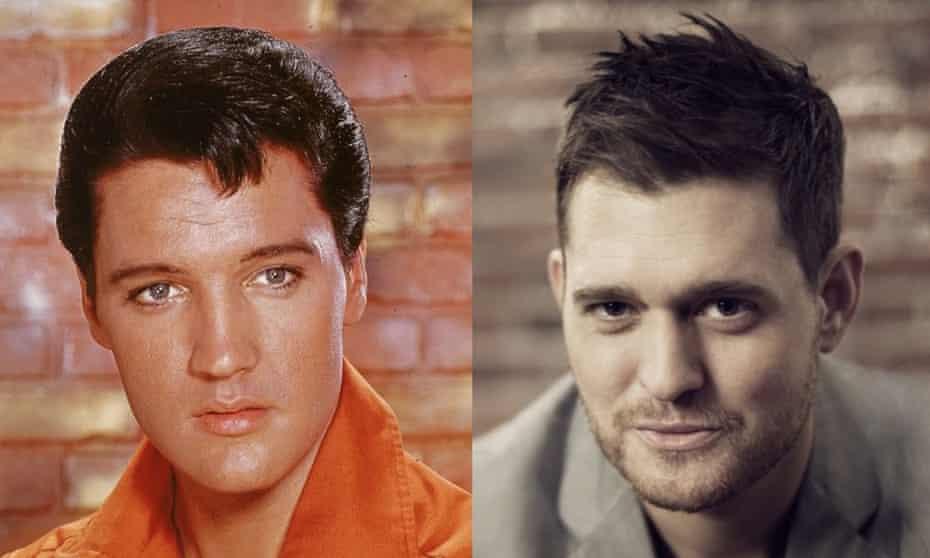 Elvis Presley and Michael Bublé