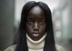 Peter Zelewski's photograph of Nyaueth, shortlisted in the Taylor Wessing Photographic Portrait Prize 2015