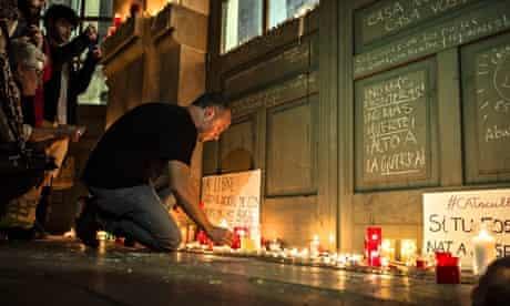 barcelona refugees tribute memorial