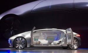 The Mercedes-Benz F015 Luxury in Motion autonomous concept car