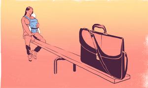 illustration women at work