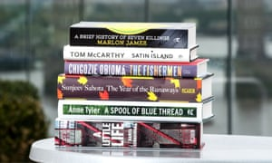 The six Man Booker prize 2015 shortlisted novels.