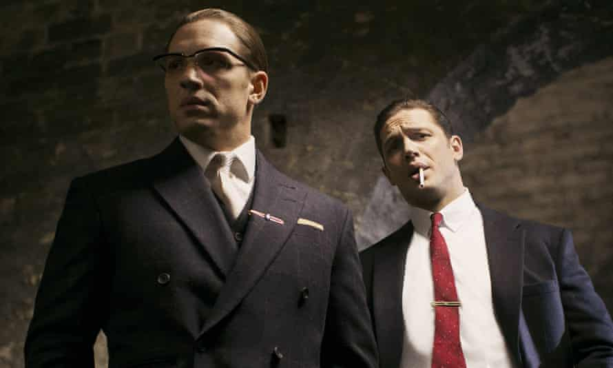 Tom Hardy and Tom Hardy in Legend.