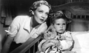 Dickie Moore appeared in Blonde Venus, 1932, alongside Marlene Dietrich.