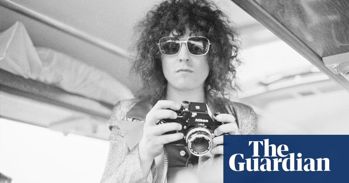 Marc Bolans In Car Crash From The Archive  Music The Guardian