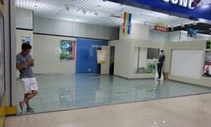 Bainaohui mall in Shanghai