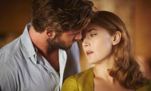 'It's all dressed up and has too many places to go' .. Liam Hemsworth has designs on Kate Winslet in The Dressmaker.