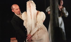 STephane Degout (the Count) and Ellie Dehn (the Countess) in Nozze di Figaro