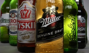 SABMiller owns brands such as Peroni and Grolsch.