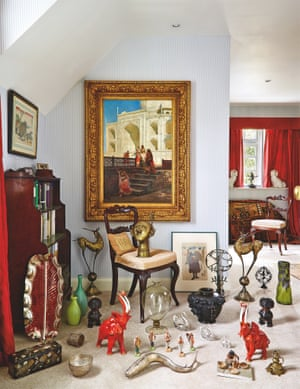 VS Naipaul's collection of Indian art