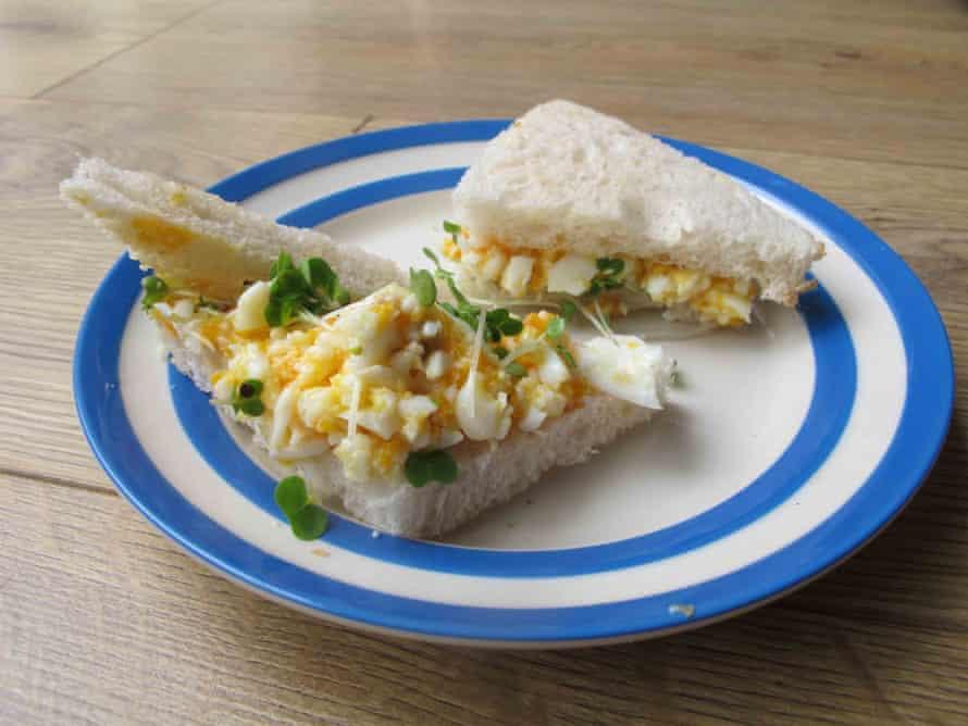 Gary Rhodes's egg mayo.