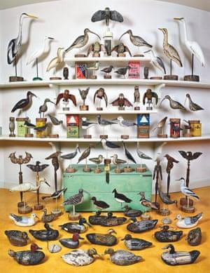 Roberto Baggio's collection of decoy ducks