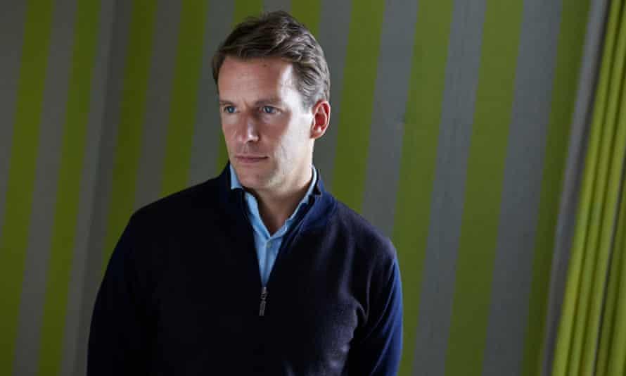 Author Bill Clegg. London 1/9/15