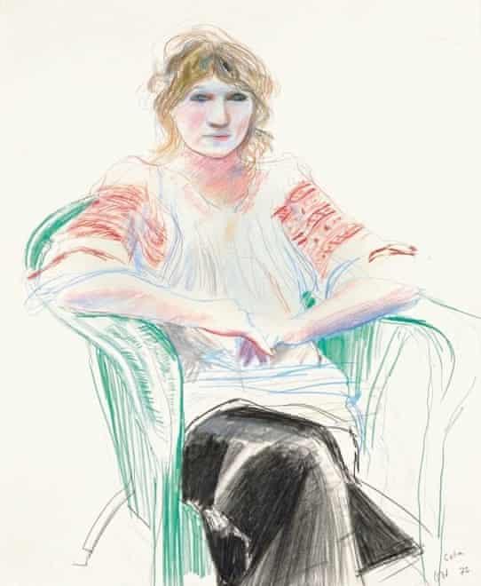Celia, 1972 by David Hockney.