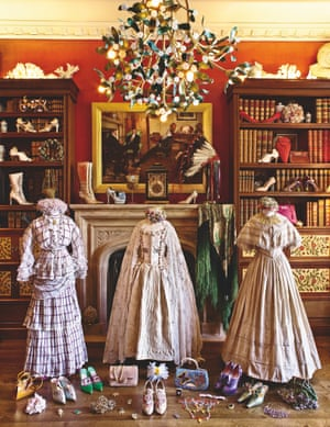 Lady Anne Evans' collection of vintage and antique costume, couture and textiles