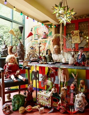 Simon Costin's collection of macabre curiosities and folk art