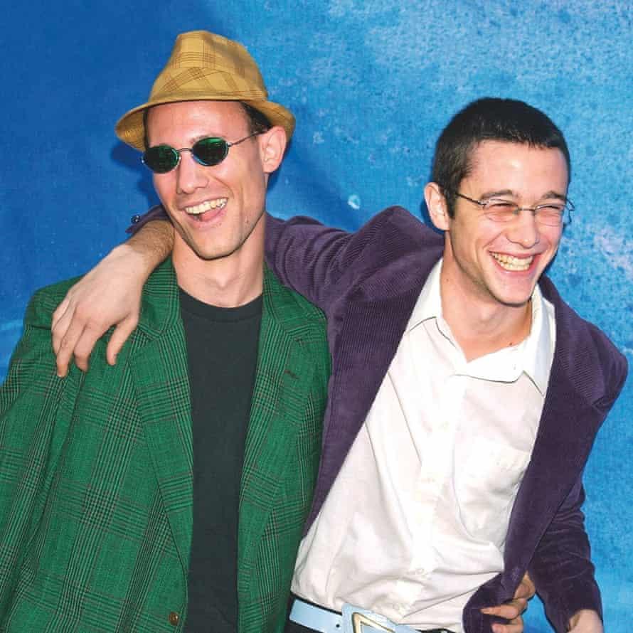 Joseph Gordon-Levitt with his late brother, Dan