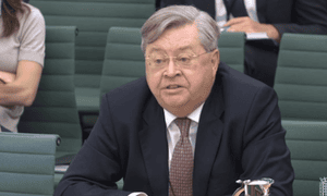 McCafferty at select committee.