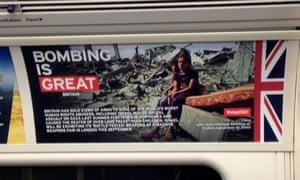 Anti-arms trade poster