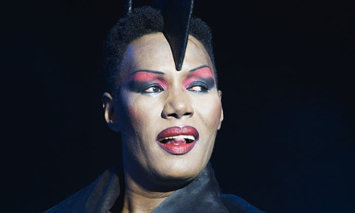 Grace Jones performs at the On Blackheath Festival in London last year.