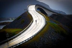 Atlantic crossing, Norway.
