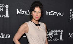 """""""I learned early on not to defend my material because there were going to be people were would be offended by anything I say"""" ... Sarah Silverman talking about risky comedy at the Toronto film festival."""