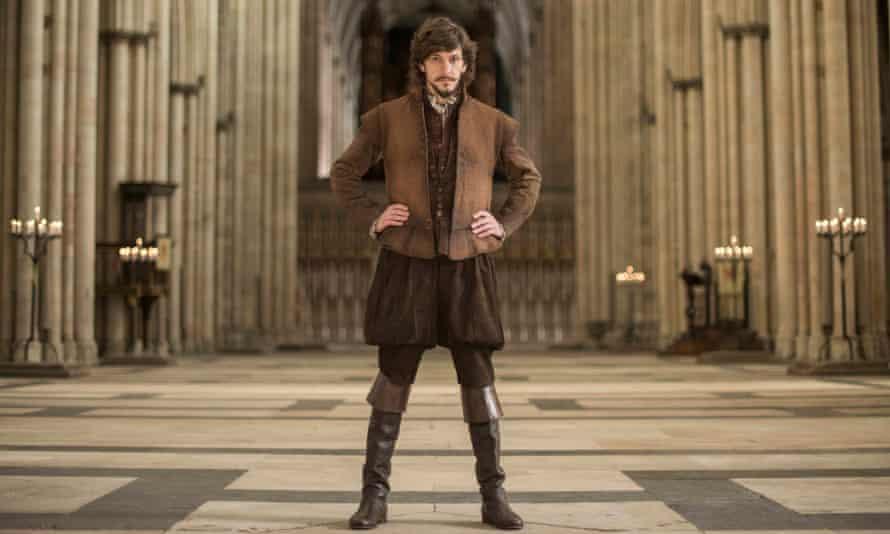 Shakespeare, the rock'n'roll years … Mathew Baynton in Bill
