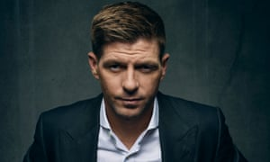 Steven Gerrard photographed for the Guardian