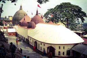 Kamakhya temple in Guwahati.