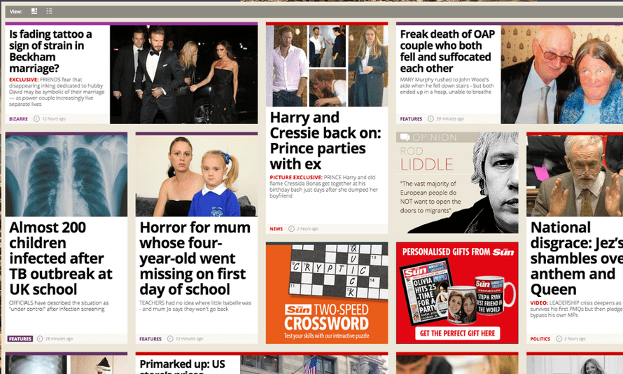 The Sun's website has experienced a boost since relaxing the paywall