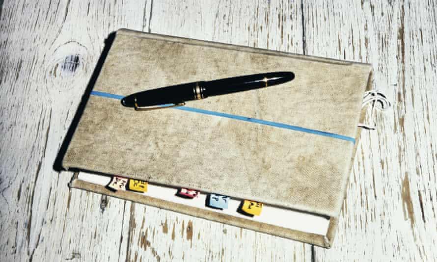 Nigel Slater's diary.