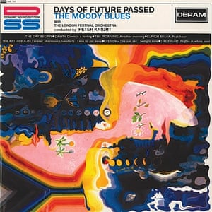 The Moody Blues – Days of Future Passed cover