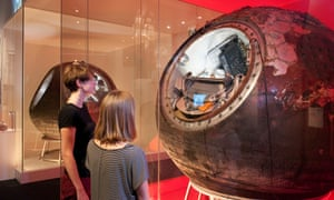 Capsule flown by the first woman in space, Valentina Tereshkova