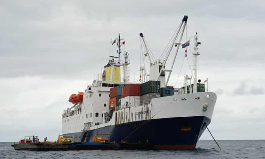 Royal Mail Ship Saint Helena
