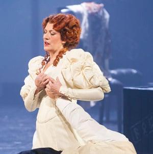 Sarah Connolly (Fricka) in Das Rheingold by Richard Wagner @ Royal Opera House