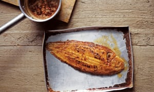 Chilli barbecued five-spiced Dover sole