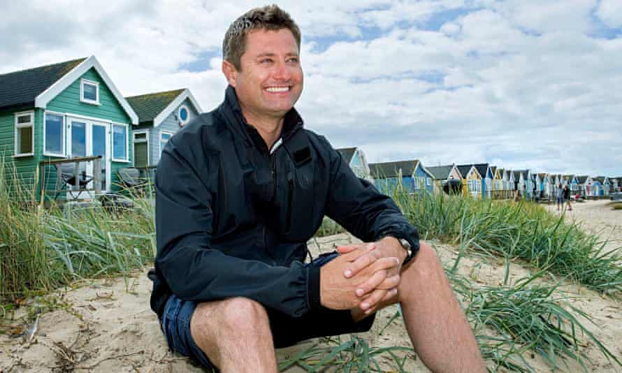 Affable … George Clarke