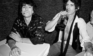 'I'd like to live another 25 years' … with Ronnie Wood in New York, 1980.