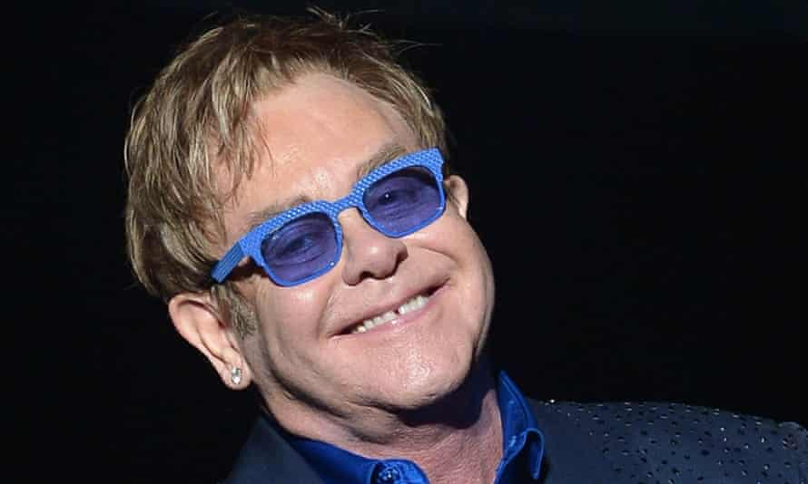 Elton John, who was tricked by Russian comedians Vova and Lexus.