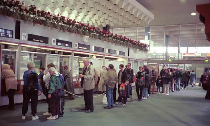 ticket office in 1998