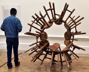 Ai Weiwei. Grapes, 2010, installed at the Royal Academy