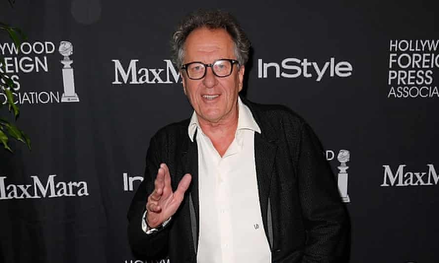 'It's nice going to work, and not having to always necessarily get on a plane to do it.' - Geoffrey Rush
