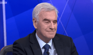 John McDonnell on Question Time