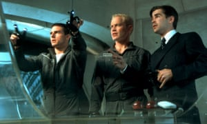 In the film Minority Report from 2002, Tom Cruise manoeuvred content around wall-sized computer screens by waving his hands